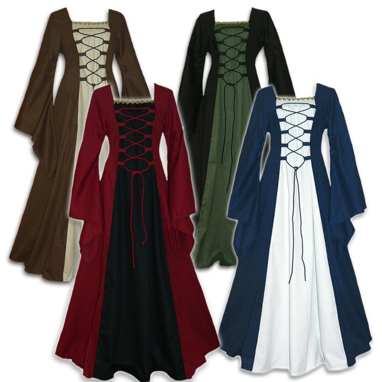 Mittelalter Kleidung maßangefertigt auch in ganz großen Größen und ...