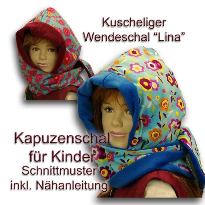 Schnittmuster für Kinder Kapuzenschal e-book