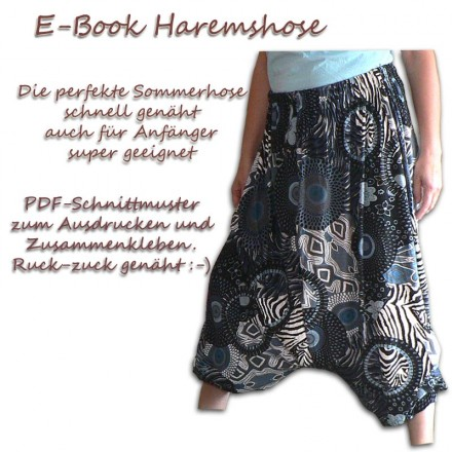 Schnittmuster e-book Pluderhose
