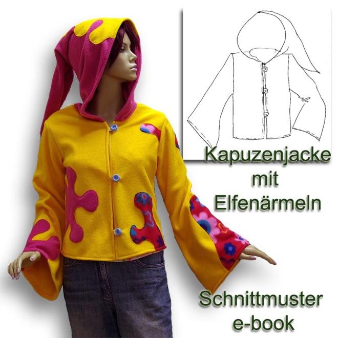 Schnittmuster e-book Elfenjacke