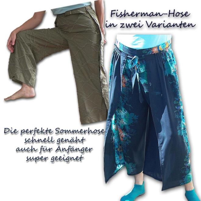 Schnittmuster e-book Wickelhose Thai-Hose