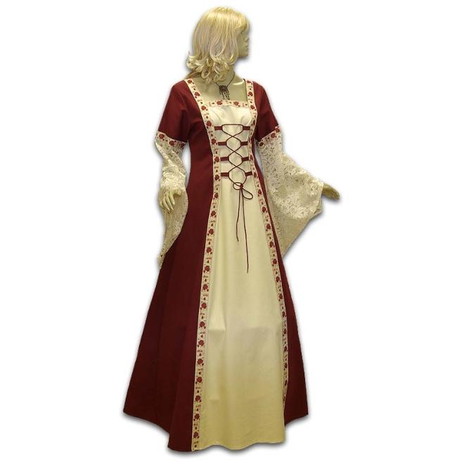 Mittelalter Hochzeitskleid (Brautkleid) nach Maß aus eigener Werkstatt
