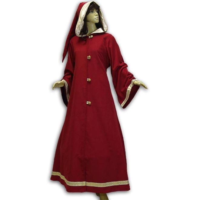 Mittelalter mantel kapuze